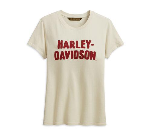 99232 davidson Xxl 19vw Chain T White Harley shirt Antique Stitched Womens 7qdBw1