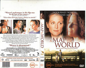 A Map of The World-1999-Sigourney Weaver-Movie-DVD | eBay
