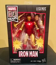 Marvel Legends Classic Iron Man Action Figure 80th Anniversary. Mint. A+Seller
