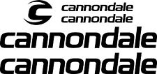 Cannondale Bicycle Decal Set MTB/Road (Gloss Black)