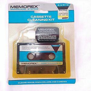 Cassette-Tape-Head-Cleaner-Memorex-NEW