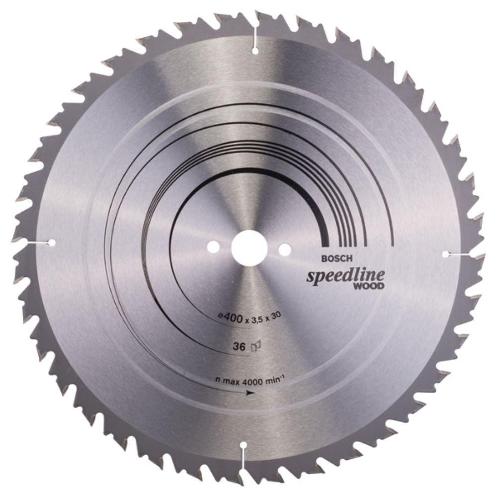 BOSCH Ø 400 x30 x3,5 mm Kreissägeblatt Speedline Wood 36Zähne