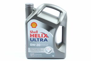 SHELL Helix Ultra Motoröl 5 Liter ECT C2/C3 0W30 VW504.00/507.00, MB 229.51 (52)