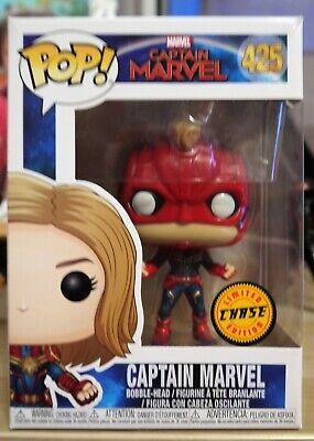 achater figurine pop captain marvel chase
