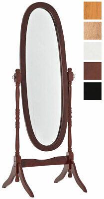 Standspiegel Ankleidespiegel Barockspiegel Boden stehend Rechteckig Spiegel Gold