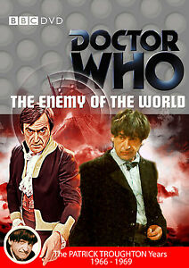 Doctor-Who-The-Enemy-Of-The-World-BBC-Dr-Who-GB-R2-BBC-DVD-Patrick-Troughton