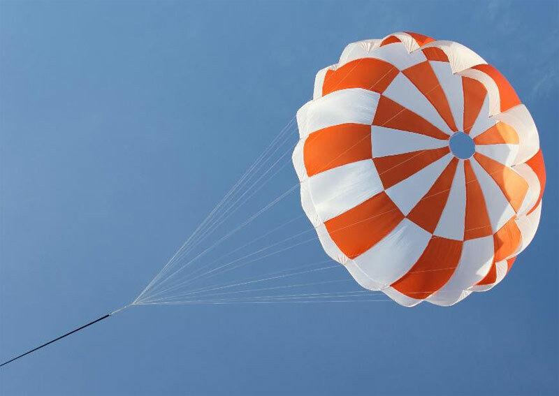 7ft Space X Inspirot Parachute