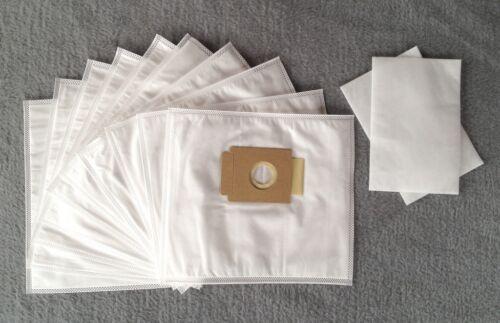 Staubbeutel Filtertüten 10 Staubsaugerbeutel zu Aldi QU 110 2 Filter