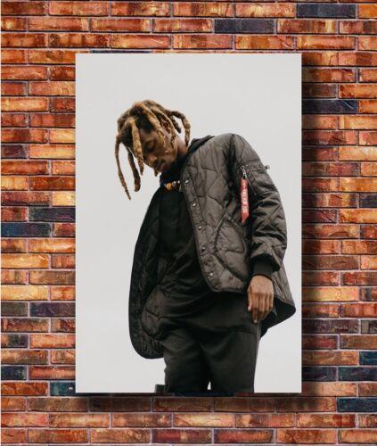 T2729 24x36 Silk Poster Denzel Curry Custom Rap Hip Hop Music Singer Art Print