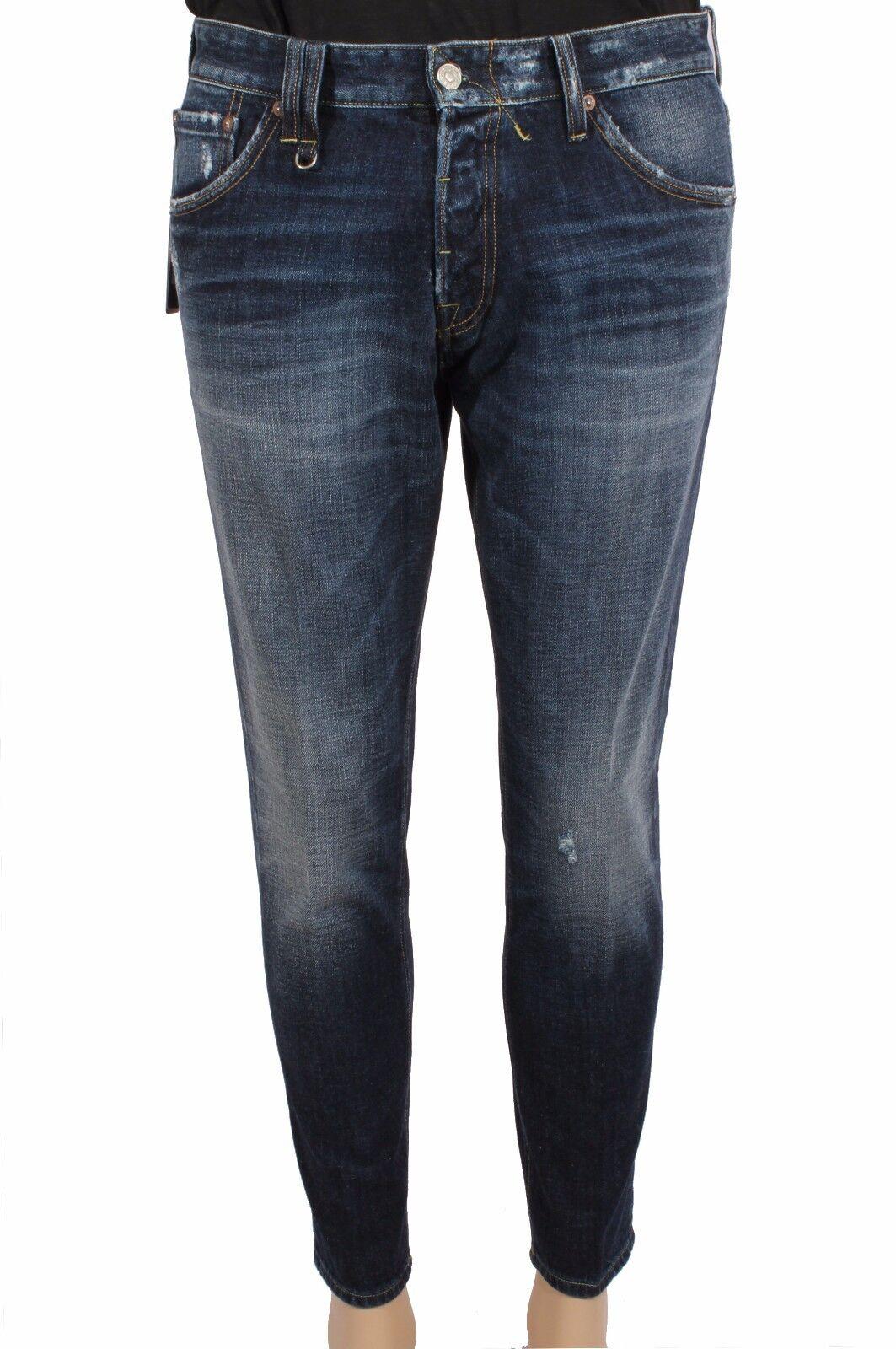 Men's Jeans CYCLE MPT170 SH D1079 L2946 Denim Cotton 11OZ Real Indigo