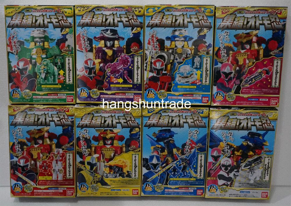 Bandai ninninger shurikenjin paonmaru ufomaru surfermaru Megazord Figura Set