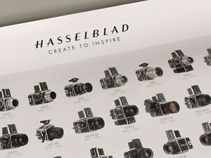 PRL-HASSELBLAD-CAMERAS-HISTORY-POSTER-STORIA-FOTOCAMERE-AFFICHE-PRINT-STAMPA