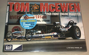 MPC-Tom-McEwen-1969-Front-Engine-Dragster-1-25-scale-model-car-kit-new-900