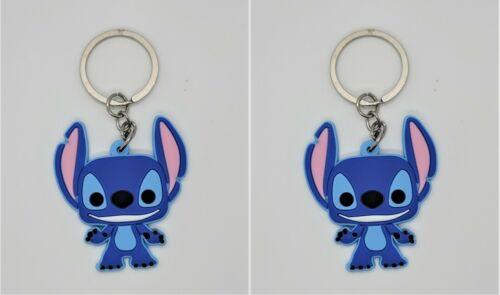 Keychain Stitch Set of 2 Non Toxic Pendant