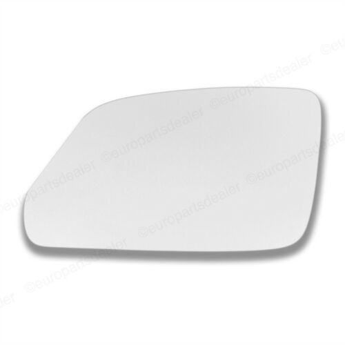 Passenger Side CONVEX WING DOOR MIRROR GLASS For VW Polo 2005-2009 Stick On New