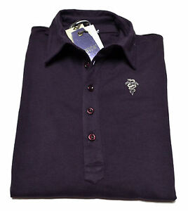 POLO-maglia-Datch-Uomo-Men-sotto-giacca-5-bottoni-Logo-ricamato-100-E-best