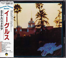 EAGLES Hotel California JAPAN 2nd Press CD 1988 20P2-2016 W/Obi RARE!!