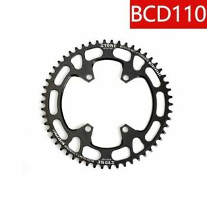 Lightweight Oval Chainring Narrow Wide For BCD110 4 Arms SHIMANO 4700 5800 9000