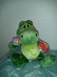 Chompy The Gator Ty Beanie Babies 2.0