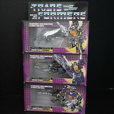 3rd Party Reissue Transformers G1 Insecticons Shrapnel Bombshell Kickback