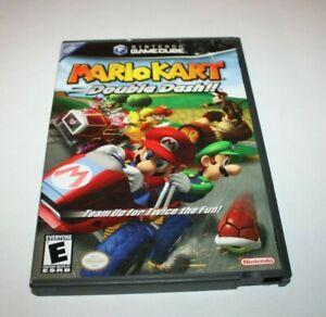 Mario Kart Double Dash Nintendo Game Cube --BOX. MANUAL & BONUS DISK ONLY