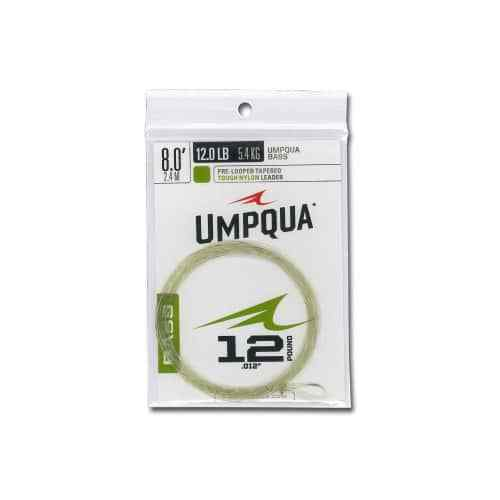 10 lb NEW FREE SHIPPING Umpqua Bass Leader