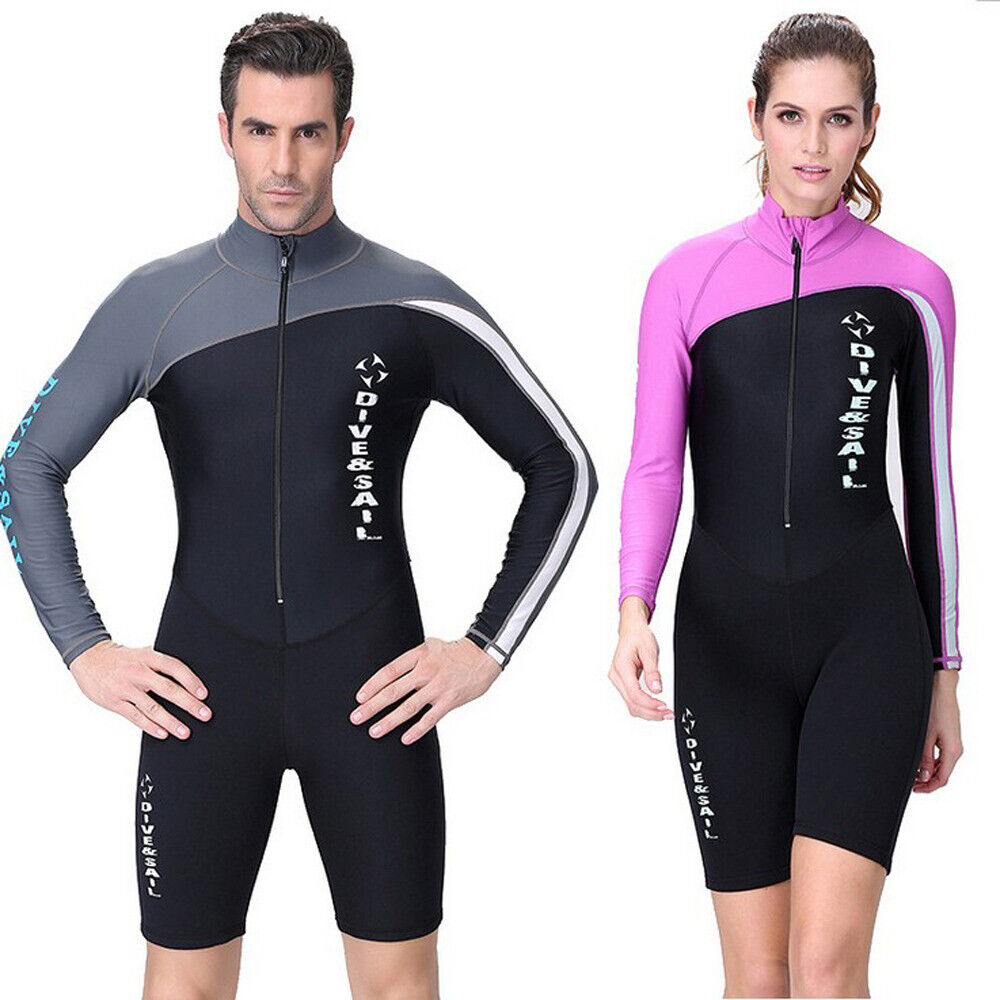 New Long Sleeve Swimwear Rashguard Surfing  Diving Shirt UV Predection Clothing  select from the newest brands like