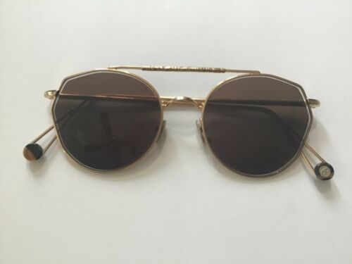 22k GOLD DIPPED AVIATOR SUNGLASSES BY AHLEM! PLACE