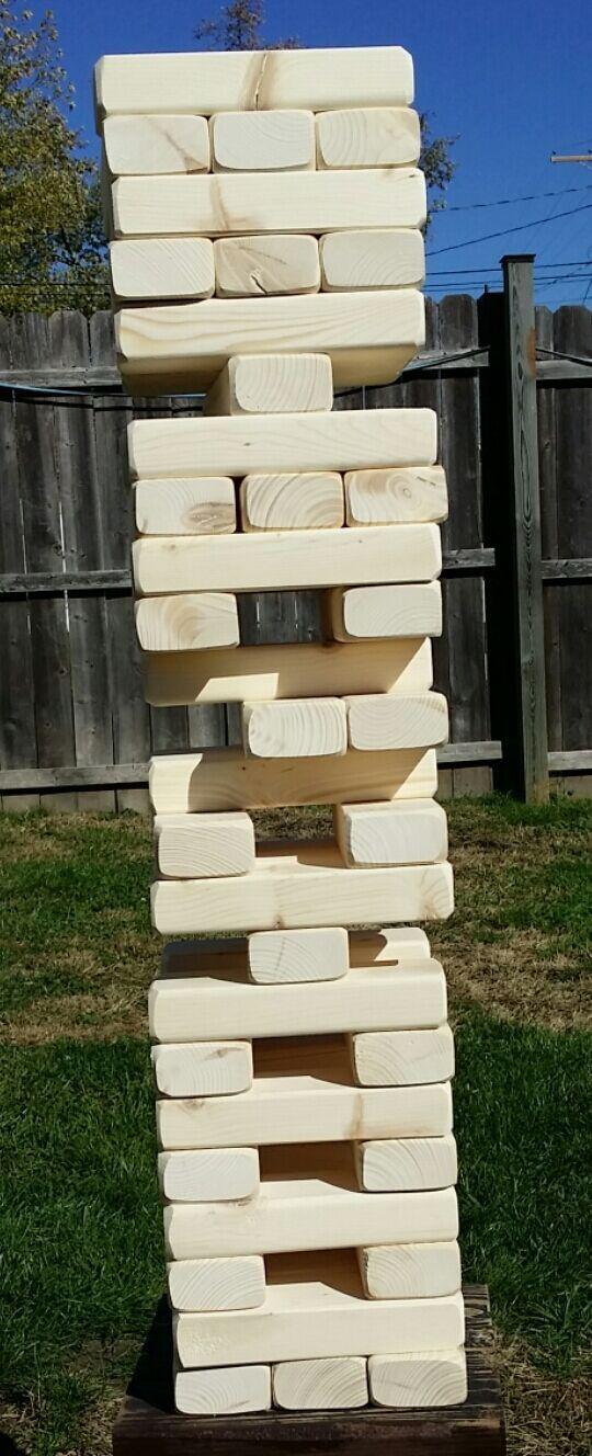 Fun Fun  tumblerz (grande) -- familia momentos de diversión  Tumbling Bloques. Tumble Tower.