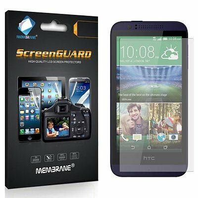 6 New Brand Membrane Screen Protectors Protect for Mobile Phone HTC Desire 510