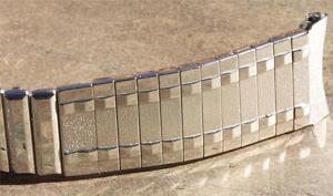 Steel-Kreisler-USA-1950-60s-vintage-watch-band-u-pick-17-3mm-or-18mm-curved-ends