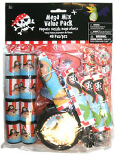 48 Piece Pirate Birthday Party Favor Favour Loot Bag Filler Toys & Bags
