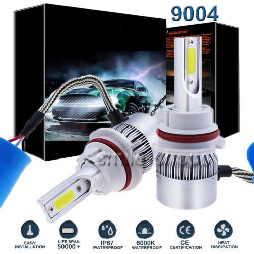 9004 HB1 LED Headlight Kit For Volkswagen Passat 1990-1994 VW Jetta 1985-1999