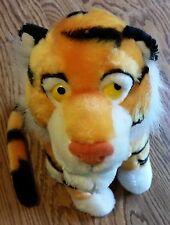 Disney Rajah Raja Bengal Tiger Vintage Aladdin Stuffed Zoo Animal Plush Toy