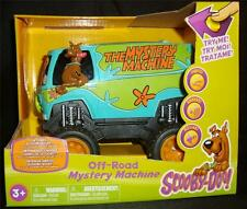"""SCOOBY DO-THE MYSTERY MACHINE-MOVES FORWARD&REVERSE-HEADLITES BLINK-7""""X5""""-SPIFFY"""