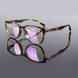 528d4039fc0d Image is loading TR90-Oversized-Men-Women-Vintage-Fashion-Eyeglass-Frame-