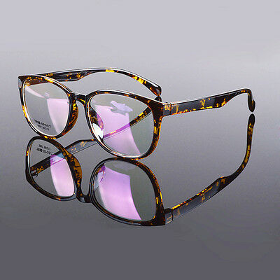 Black TR90 Oversized Men Women Vintage Fashion Eyeglass Frame Optical Eyewear Rx 5097