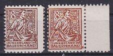 SBZ Mi Nr. 24 in 2 Farben, ** u. *, sowjet. Zone 1945