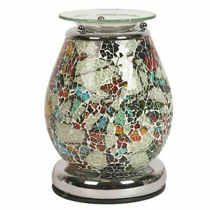 Mercury-Touch-Mosaic-Electric-Wax-Warmer-Burner-amp-pack-of-10-Scented-Melts-3140