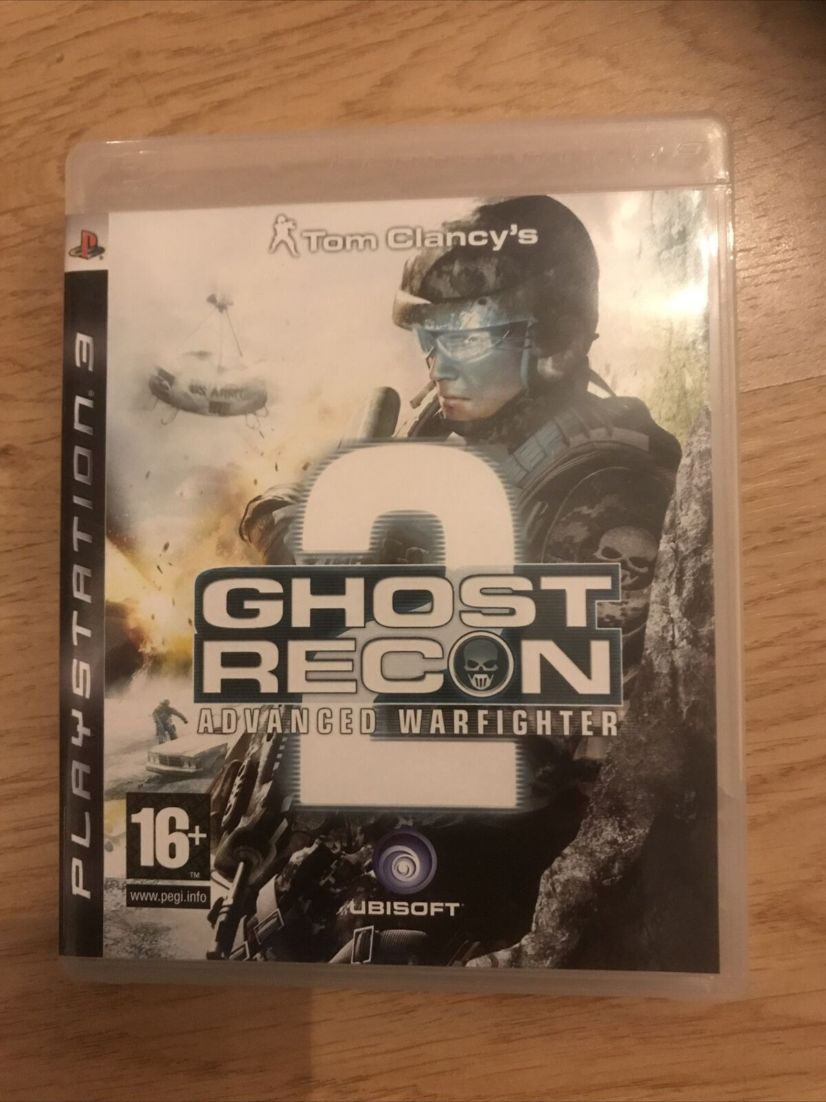 Tom Clancys Ghost Recon 2 Advanced Warfighter PS3 COMPLETE IN BOX UNTESTED