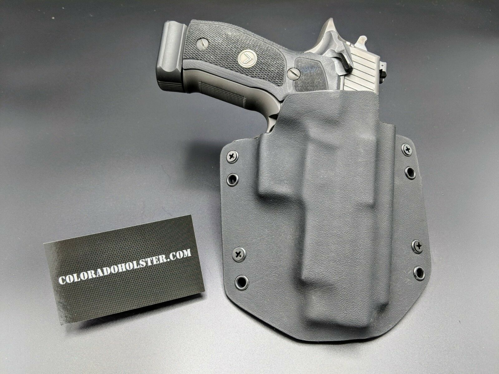 OWB Kydex CCW holsters - Fits Sig Sauer P226 9mm Legion SAO (Single Action)