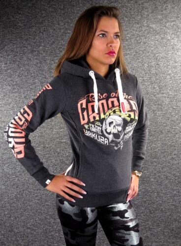 Yakuza Premium Hoodie GH 2540 Noir XS S M L XL Femmes Sweatshirt Sweater NEUF