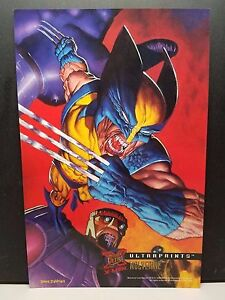 1995-Fleer-Ultra-X-men-Ultraprints-Wolverine-NM
