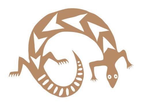 Southwestern Style Lizard 541 Custom Made to Order Decal Vinyl Sticker
