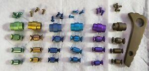 Custom-Anodized-Titanium-screw-pivot-dress-kit-for-Spyderco-Paramilitary-PM2-C81