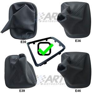 Funda-de-pomo-para-palanca-de-cambio-para-Bmw-E30-E36-E39-E46-con-marco-incluido