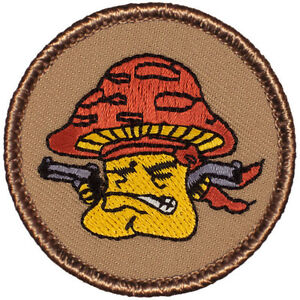 Us border patrol patch (#007).