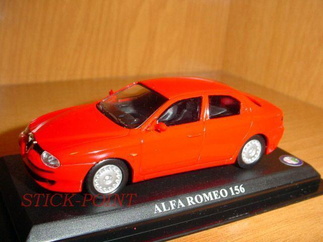 ALFA ROMEO 156 RED 1 43 43 43 MINT    d18d29
