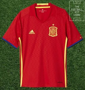 828ee6f1b468 Spain Home Shirt - Official adidas Boys Football Jersey - All Sizes ...