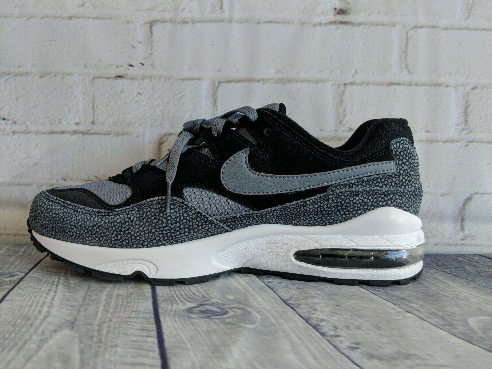 DS Nike Air Max 94 SE Black Grey Safari 1 90 95 97 98 trainer AV8197 001 Size 10